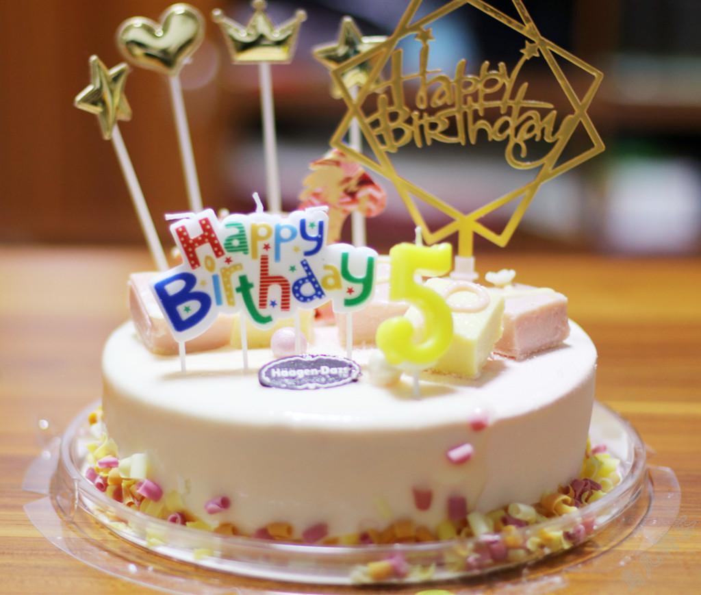 恬恬5岁生日快乐!